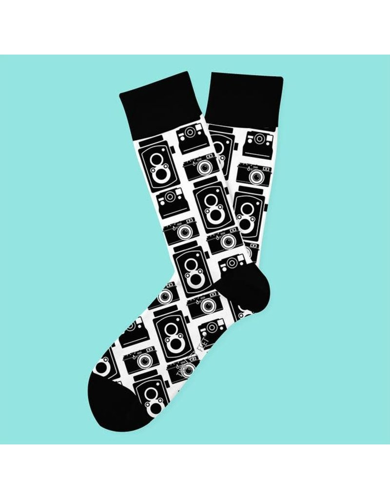 Two Left Feet Snapshot Socks