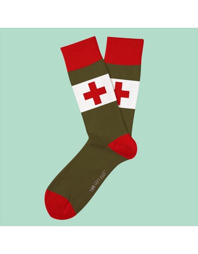 Two Left Feet The Medic Socks