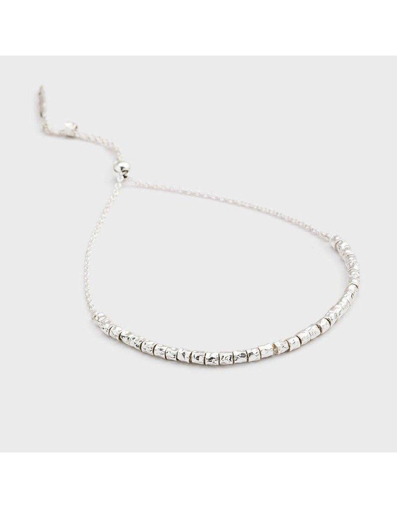 Gorjana Laguna Adjustable Bracelet (Silver)