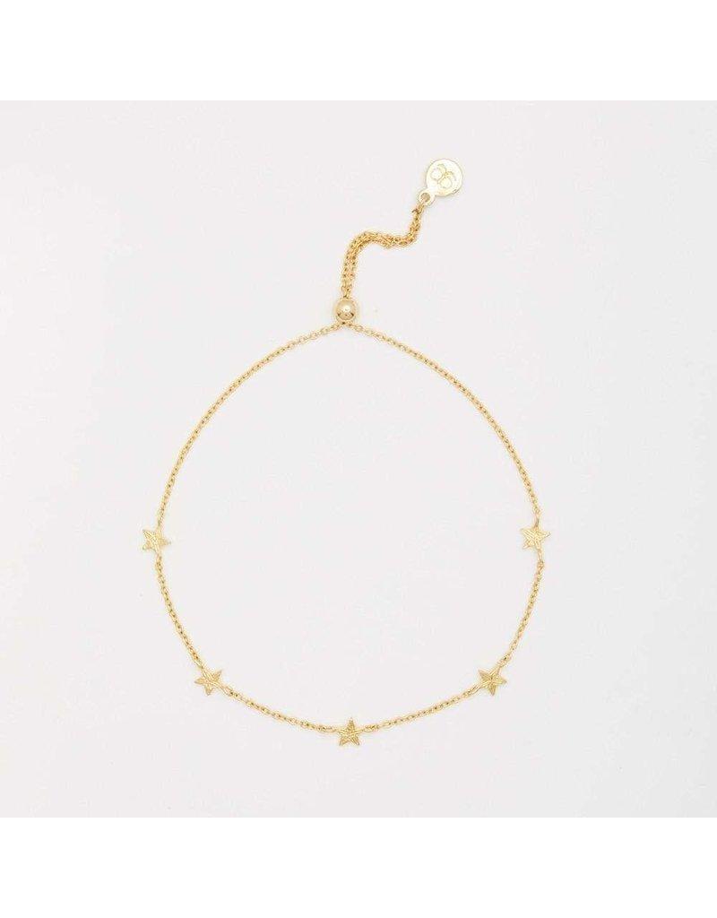 Gorjana Super Star Bracelet (Gold)