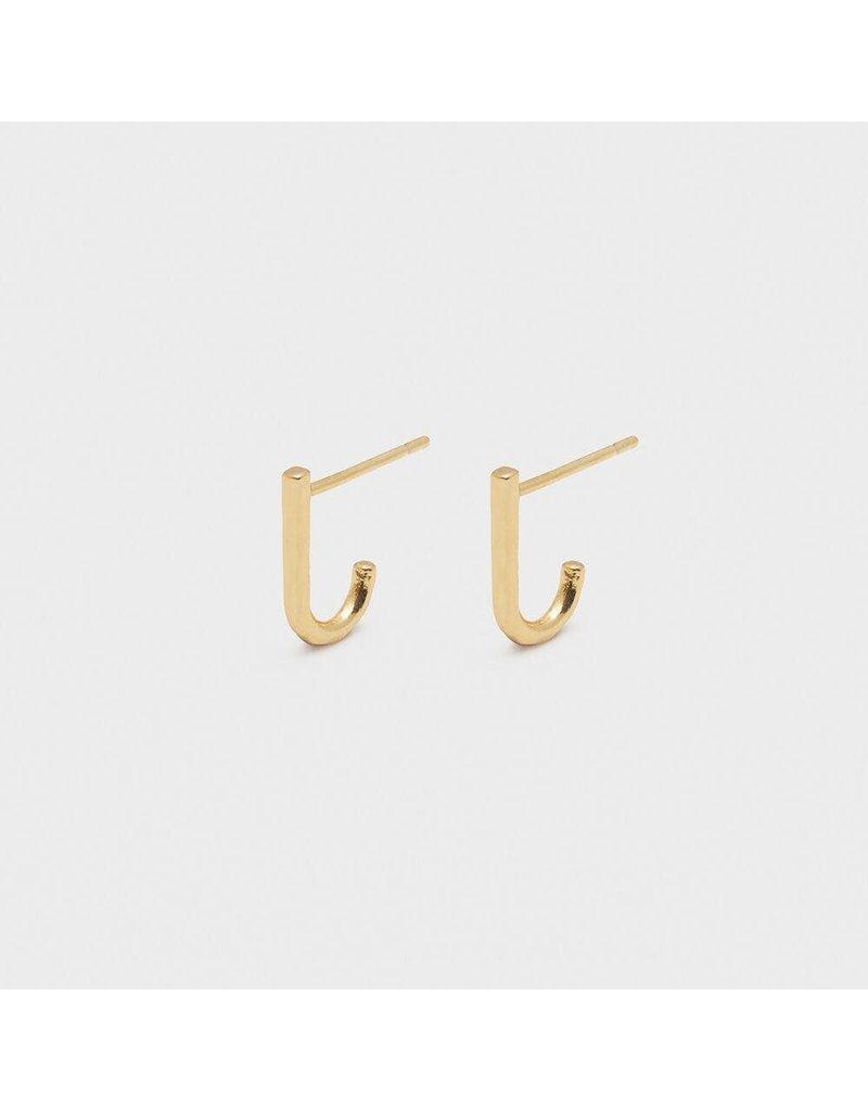 Gorjana Taner Huggies - Gold