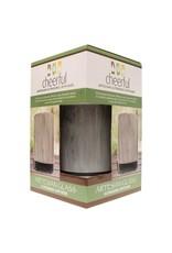A Cheerful Giver Glass Ultrasonic Diffuser-Charcoal Artesian