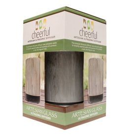 A Cheerful Giver Glass Ultrasonic Diffuser-Charcoal Artesian