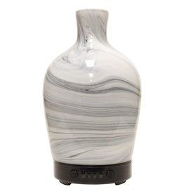A Cheerful Giver Glass Ultrasonic Diffuser-Marble Vase Artesian