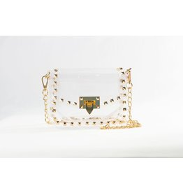 Clearly Handbags The Jackie Clear Handbag