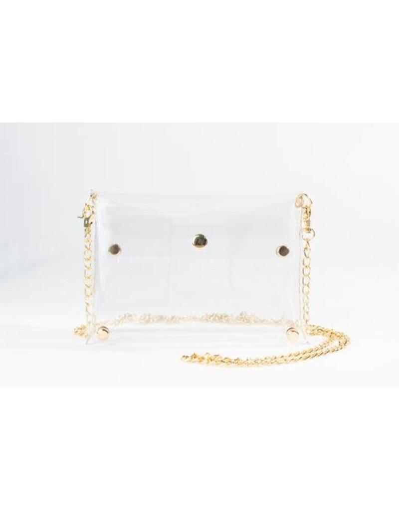 Clearly Handbags The Rainey Clear Handbag