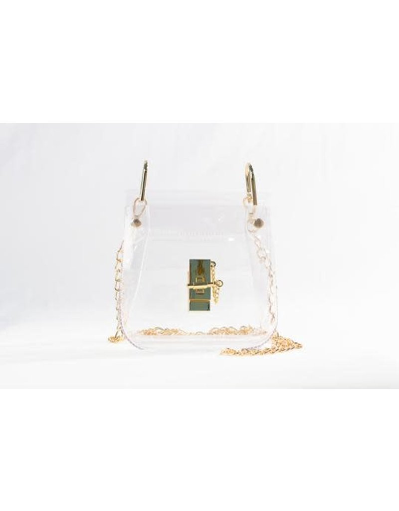 Clearly Handbags The Tatum Clear Handbag