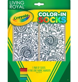 Crayola Candy Lane Color In Socks