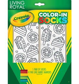 Crayola Sweet Snacks Color In Socks
