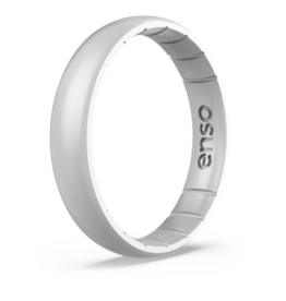 Enso Rings Elements Thin Fit, Silver