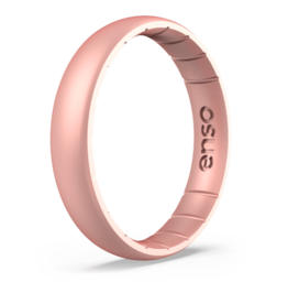 Enso Rings Elements Thin Fit, Rose Gold