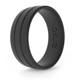 Enso Rings Ultralite Classic Fit, Obsidian