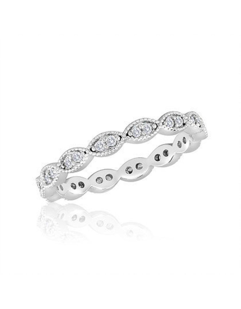 Center Court Endless Oval Stack Ring