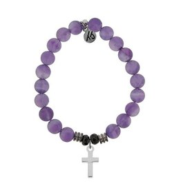 Tiffany Jazelle Core Collection, Cross -Amethyst