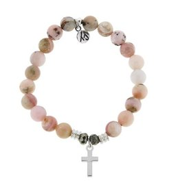Tiffany Jazelle Core Collection, Cross -Pink Opal