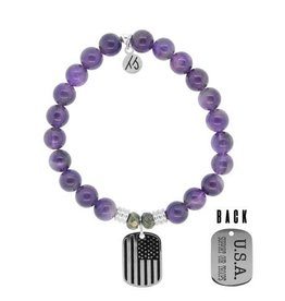 Tiffany Jazelle Core Collection, Support Our Troops, Amethyst