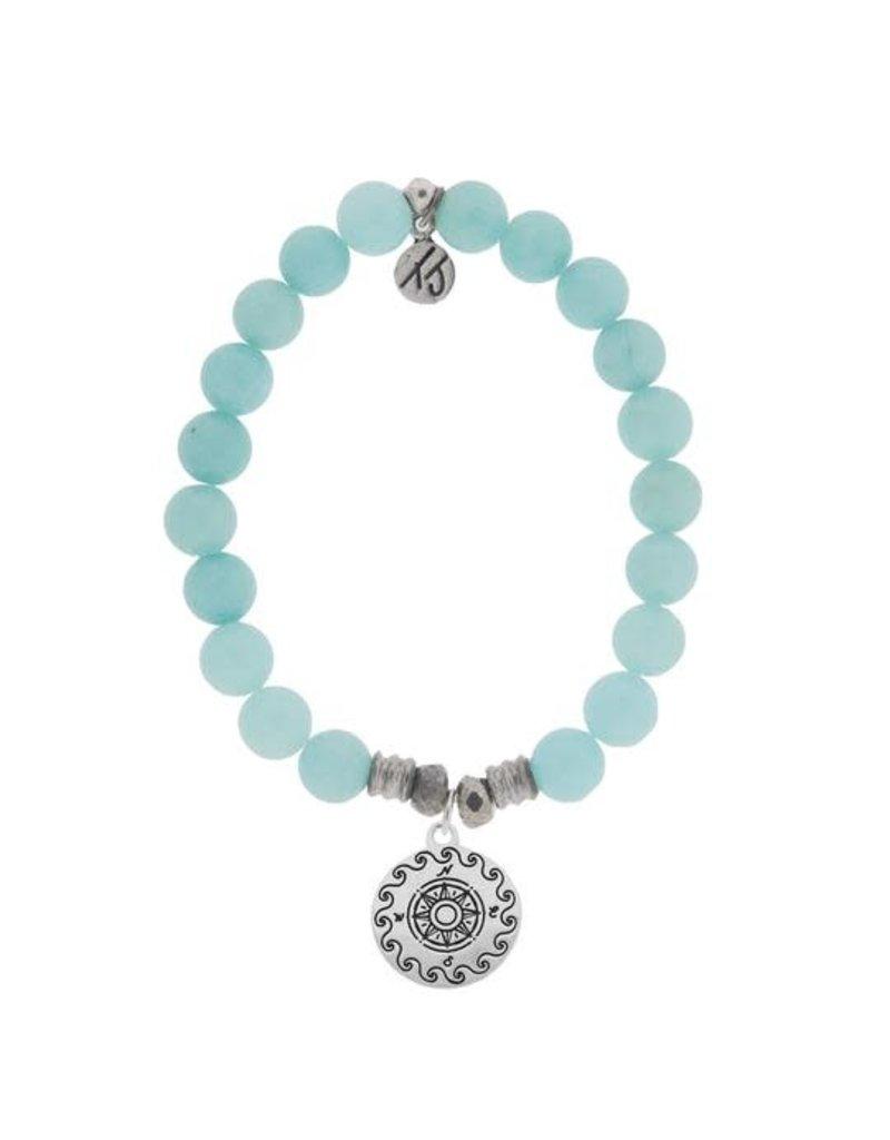 Tiffany Jazelle Castaway Collection Bracelet, Apatite, Compass Cast