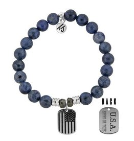 Tiffany Jazelle Core Collection, Support Our Troops, Dumortierite