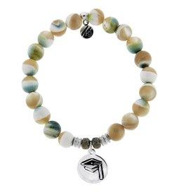 Tiffany Jazelle Pearl Shell-Grad Cap Bracelet