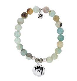 Tiffany Jazelle Amazonite-Grad Cap Bracelet