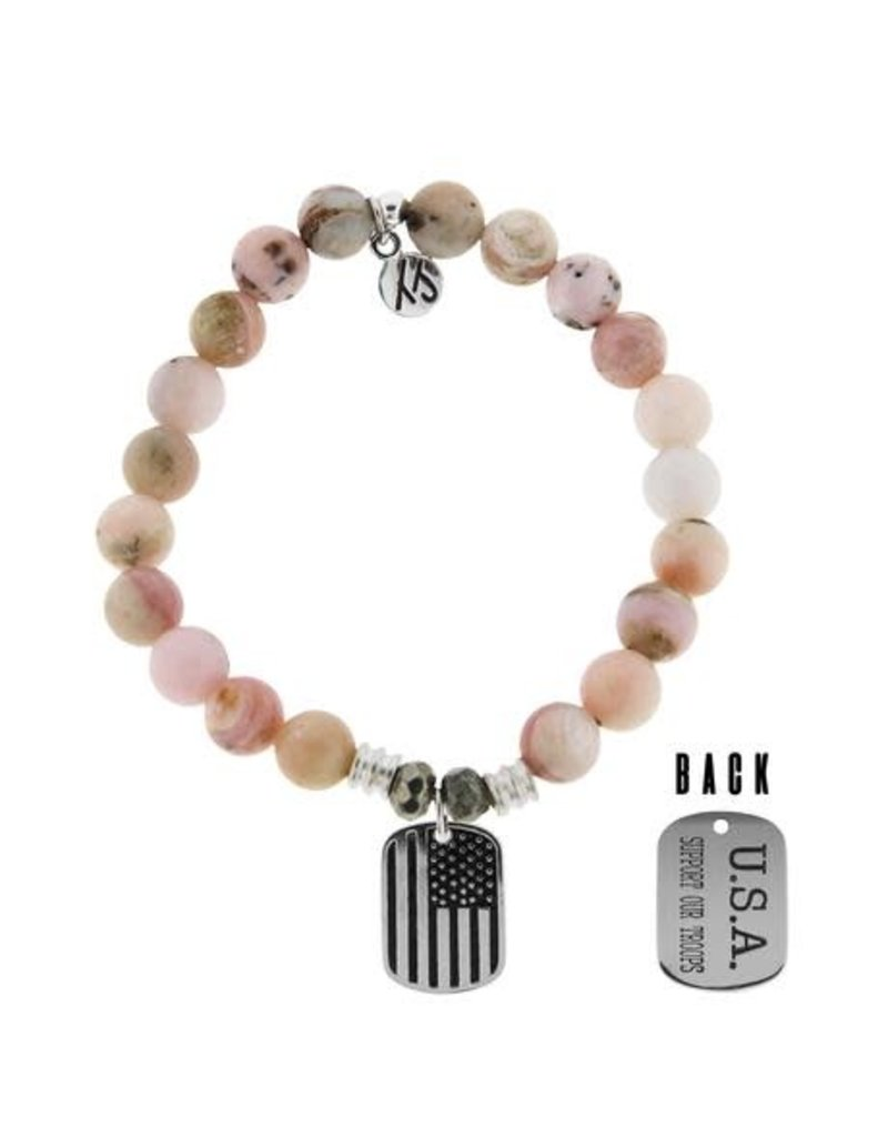 Tiffany Jazelle Core Collection, Support Our Troops, Pink Opal