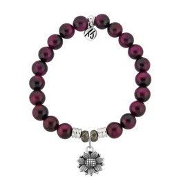 Tiffany Jazelle Core Collection, Pink Tigers Eye, Sunflower
