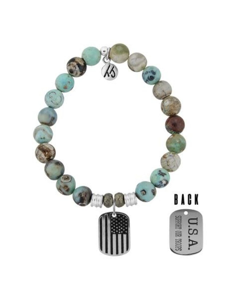 Tiffany Jazelle Core Collection, Support Our Troops, Turquoise Jasper
