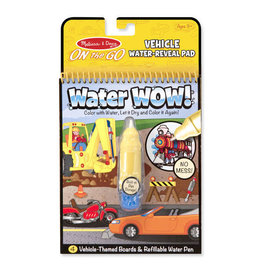 Melissa & Doug Water Wow! Reveal Pad- Vehicle