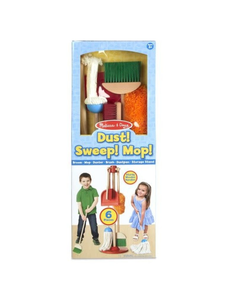 Melissa & Doug Let's Play House! Dust, Sweep & Mop