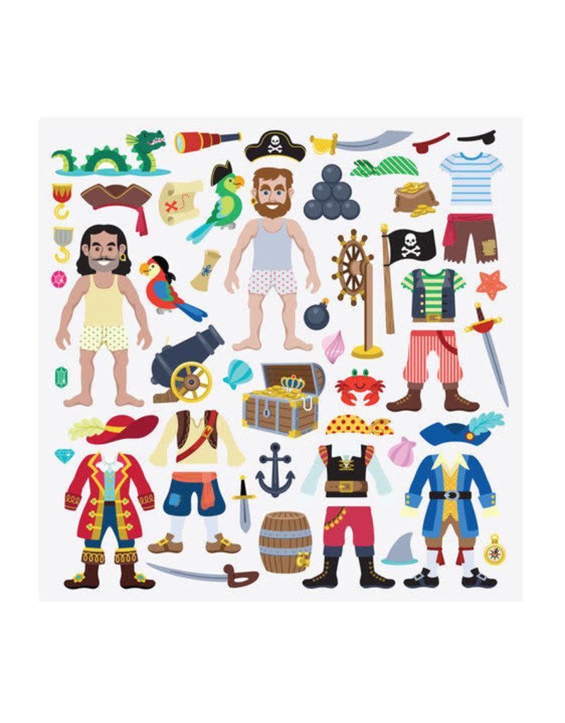 Melissa & Doug Puffy Sticker Play Set - Pirate