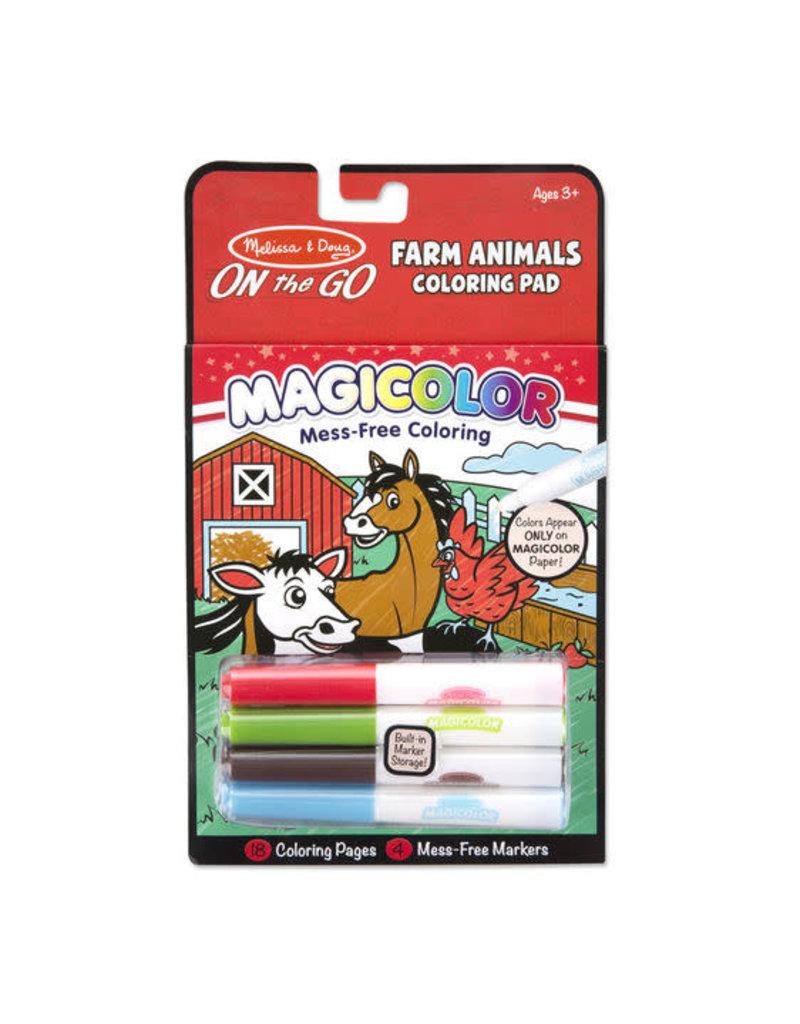 Melissa & Doug Magicolor Coloring Pad-Farm Animals