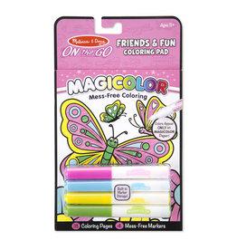 Melissa & Doug Magicolor Coloring Pad-Friendship & Fun