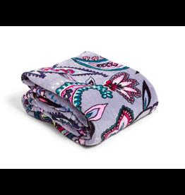 Vera Bradley Plush Throw Blanket Makani Paisley