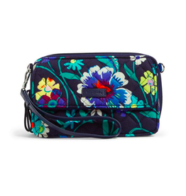 Vera Bradley Iconic RFID All in One Crossbody Moonlight Garden