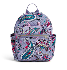 Vera Bradley Iconic Small Backpack Makani Paisley