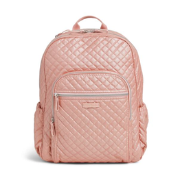 Vera Bradley Iconic Campus Backpack Rose Quartz