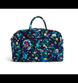 Vera Bradley Iconic Compact Weekender Travel Bag Moonlight Garden