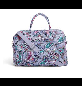 Vera Bradley Iconic Weekender Travel Bag Makani Paisley