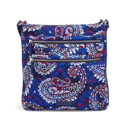 Vera Bradley Iconic Triple Zip Hipster-Fireworks Paisley