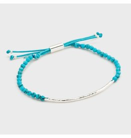 Gorjana Power Gemstone Bracelet, Turquoise, Healing, Silver