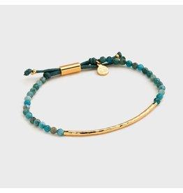 Gorjana Power Gemstone Bracelet, Inspiration, Apatite, Gold