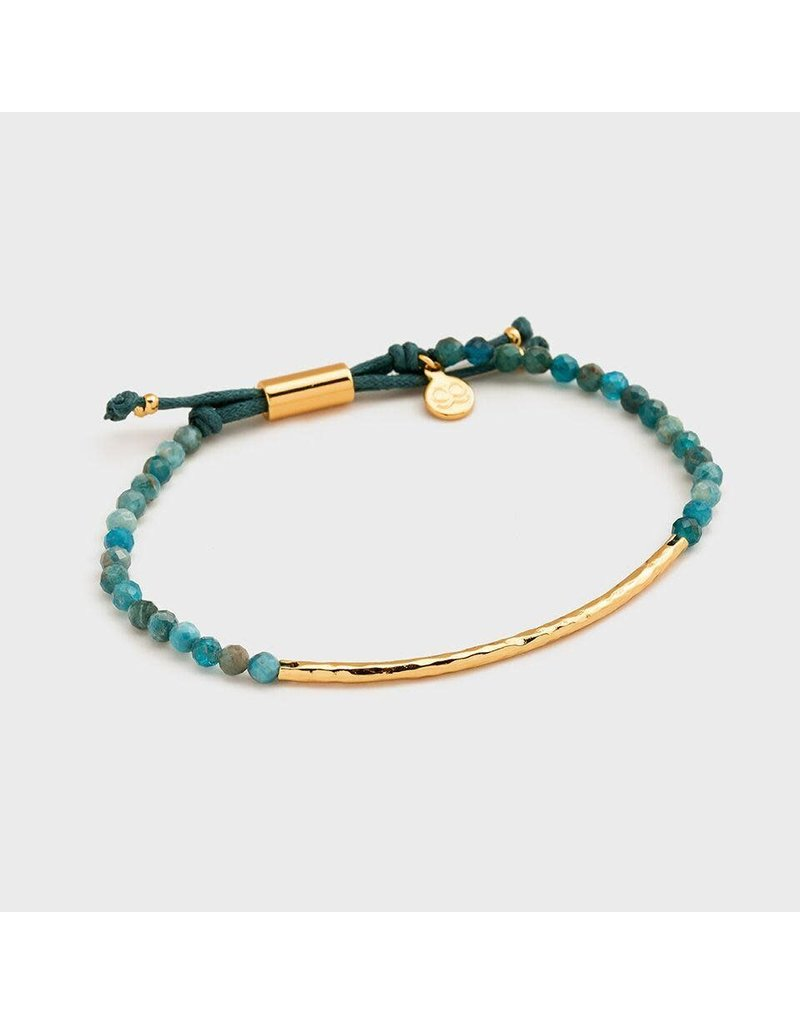 Gorjana Power Gemstone Bracelet, Inspiration, Apatite, Gold