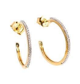 Ella Stein It's A Hoop Thing Small Hoop Earrings - Gold