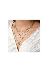 UNOde50 Delirio- Midi Triple Necklace