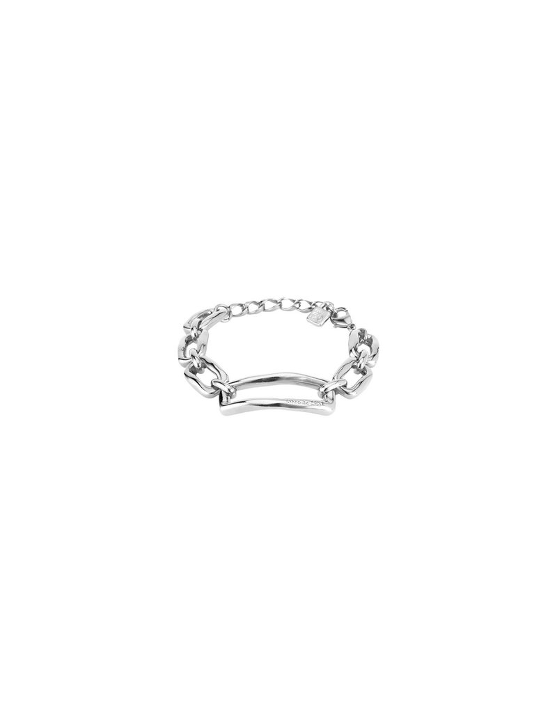 UNOde50 Chain By Chain Silver Bracelet