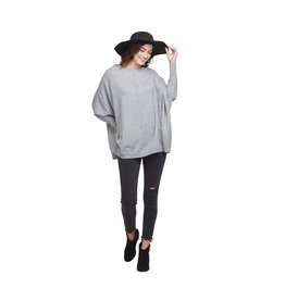 Mud Pie Leni Sweater Gray