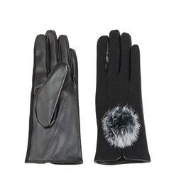 Mud Pie Poof Gloves - Black