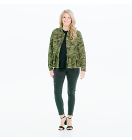 Mud Pie Banks Jacket, Green Camo