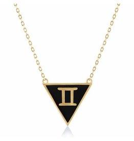 Shop Zodiacs Zodiac Necklace - Gemini