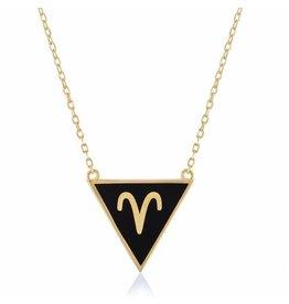 Shop Zodiacs Zodiac Necklace - Aries